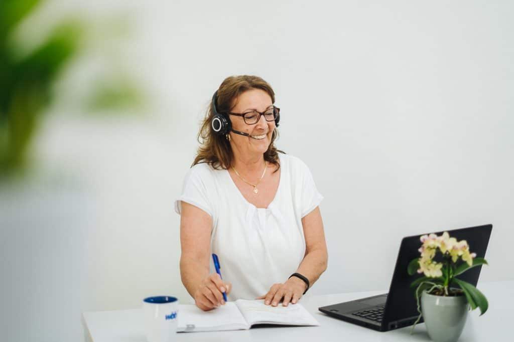 wbb laptop buero empfang headset