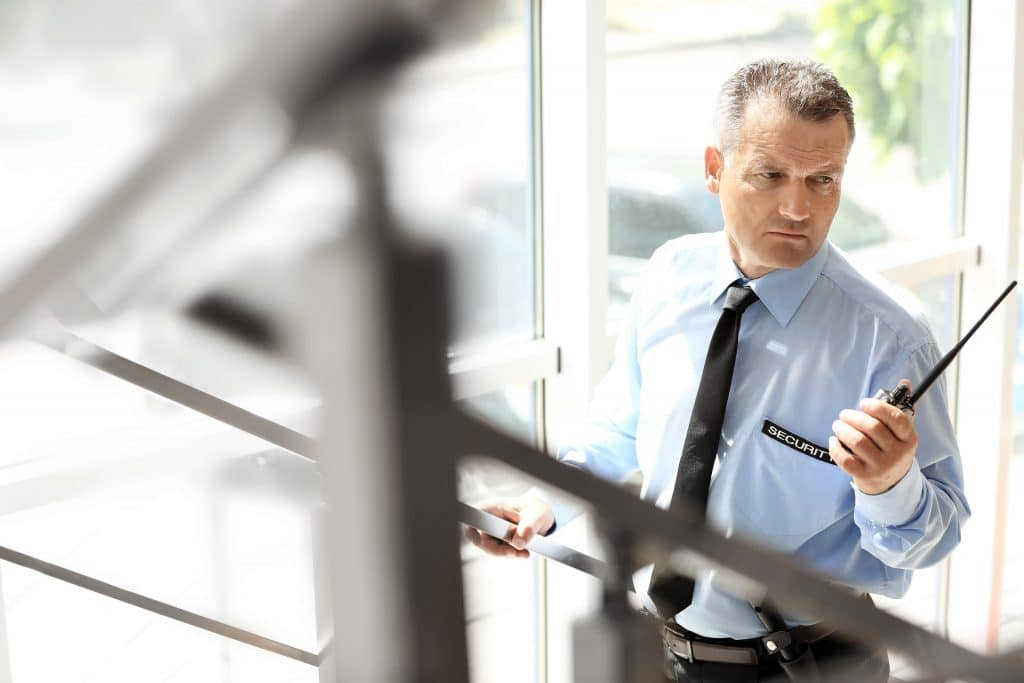 schutz sicherheit mann security